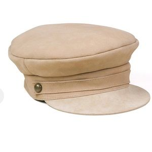 Lack of Color Lola Tan Suede Newsboy Cal Hat